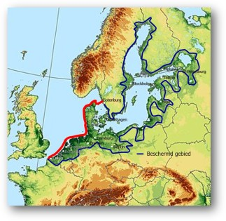 Europese zeedijk